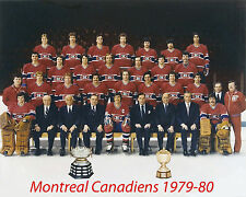 Montreal Canadiens 1979-80, 8x10 Color Team Photo