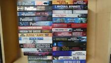 JAMES PATTERSON -LOT OF 29 SINGLE NOVELS BOOKS- TOYS, SAIL, JESTER, NEVER, ZOO +