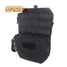 3L Hydration Backpack Water Reservoir Bag Molle Belt for Tactical JPC Vest Black