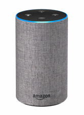 Amazon Echo (2nd Generation) Alexa Smart Assistant - Heather Grey Fabric