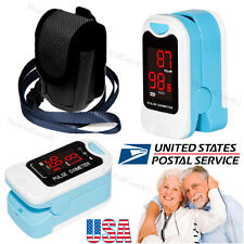 Finger Pulse Oximeter Portable Blood Oxygen Monitor SPO2 Heart Rate O2 Monitor
