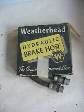 New NOS 1939-48 Weatherhead Ford/Mercury Passenger Rear Brake Hose #6100 Qty.2