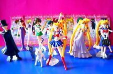 Sailor Moon Serie completa dei 12 Figures Personaggi 3D in bustina - Introvabili