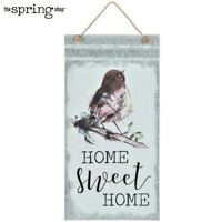 Home Sweet Home Galvanized Metal Hanging Wall Decor
