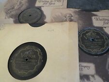 78RPM 3 Victor by Gene Austin, Without U, Someday Sweetheart, Melody Out Sky V-