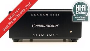 GRAHAM SLEE  VORVERSTÄRKER  GRAMAMP2 COMMUNICATOR  PHONO PREAMP MM