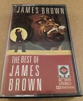 The Best Of James Brown : Vintage Tape Cassette Album from 1987