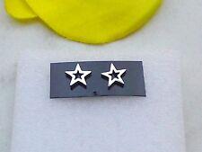 Edelstahl Ohrstecker *Stern Unisex Ohrringe Star Sternchen Ohrschmuck 1 Paar