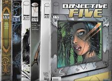 OBJECTIVE FIVE #1-#6 SET (NM-) IMAGE COMICS