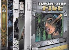 OBJECTIVE FIVE #1-#6 SET (NM-) IMAGE COMICS