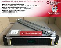 HPE MSA 2050 48TB SAS (12x 4TB) Dual SAN Controllers LFF SAN Head - Q1J00A