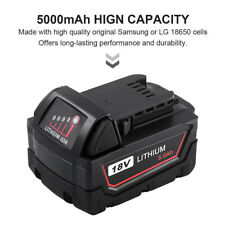 Replace For M18 Milwaukee Lithium XC 5000mAh 48-11-1850 Battery 2767-20 2767-22