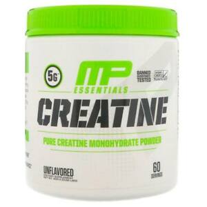 MusclePharm Creatine Powder 300g 60 Servings Muscle Build, Sale PRICE **