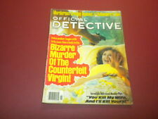 OFFICIAL DETECTIVE magazine 1979 January TRUE CRIME MURDER POLICE CASES