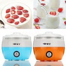 15W Electronic Automatic Yogurt Maker Container Machine DIY Stainless Steel UK