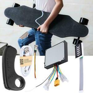 Dual Motor Electric Skateboard Scooter ESC Kit DIY Longboard Controller w Remote