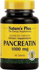 Pancreatin, 1000 mg, 60 Tablets - Nature's Plus