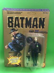 BATMAN BOB DC TOY BIZ Action Figure BRAND NEW & SEALED Power Kick 1989 Rare