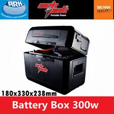 Ark Portable Power Station Pack Battery Box 240v 12v 300w AC/DC-DC CAR Charging