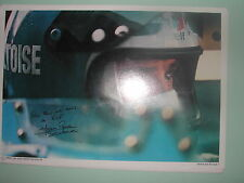 PHOTO PROFIL FICHE N° 3 ELF BELTOISE GP FRANCE CHARADE 1969 MATRA SIGNE 21 x 30