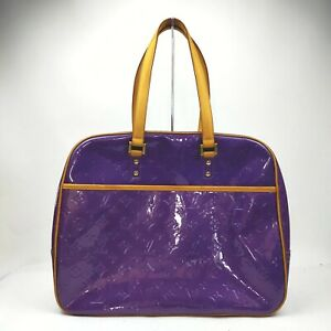 Louis Vuitton Hand Bag M91081 Sutton Purple Vernis 1713540