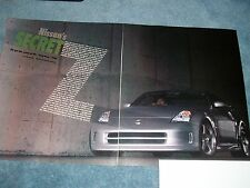 "2004 Nismo Fairlady Z S-Tune GT 350Z Info Article ""Nissan's Secret"""