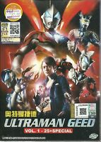 ULTRAMAN GEED - COMPLETE TV SERIES DVD BOX SET (1-25 EPIS + SPECIAL)