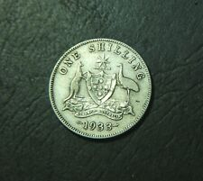 1933 Australian Shilling, 1/