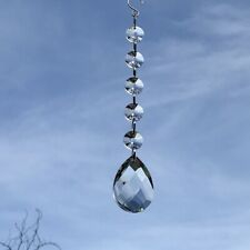 New Hanging Sun Catcher with Large Glass Crystal Drop ~ Gift Idea ~ Wedding