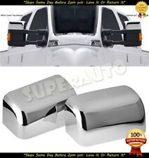 08-16 Ford Super Duty F250+F350+F450 TOP HALF Mirror Cover Triple Chrome Plated