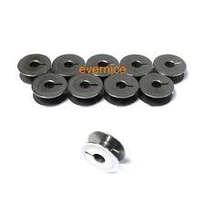 10 Pcs Completely Flat Steel Bobbins #9033 For Pfaff 130,230,260,262,332,360,362