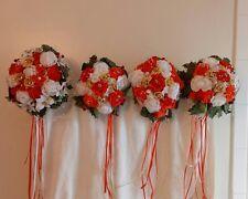 Silk Floral Wedding Bouquet Set