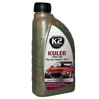 K2 GREEN Long Life Antifreeze & Coolant, Radiator  -35°C 1L GREEN 1 LITRE