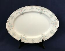 """PHOEBE"" 14 7/8"" OVAL SERVING PLATTER BY NARUMI MADE IN JAPAN PORCELAIN CHINA"