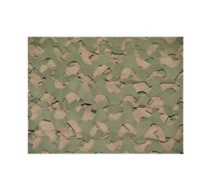 "Camo Unlimited LW04B Waterproof 7'10"" x 19'8"" Green/Brown Camo Netting Material"