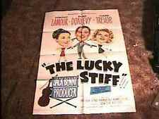 LUCKY STIFF MOVIE POSTER '48 DOROTHY LAMOUR