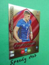 Panini RUSSIA 2018 Fifa World Cup Limited Edition Gudmundsson Adrenalyn Iceland