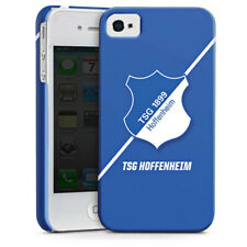 Apple iPhone 4 Premium Case Cover - Wappen - blau