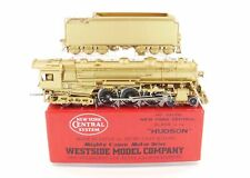 HO Brass Westside Model Co. NYC - New York Central J-1e 4-6-4 Hudson CS-2 Mint