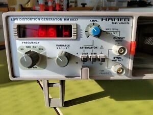 HAMEG HM 8037 Sinusgenerator Klirrarm (ohne Modulträger/Netzteil)