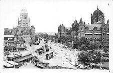 B95189 view of  real photo boribunder   india tramway tram