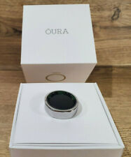 Oura Ring 2.0 - Heritage Silver - Size 11 - Boxed - Charger - Sleep HRV Tracker