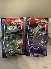 Power Rangers SPD Mega Building Bloks Blue 5762 Green 5761