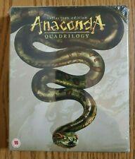 Anaconda Quadrilogy Limited Edition Blu-Ray new & sealed (UK Region A/B import)