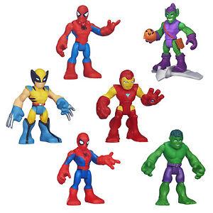 "Playskool Heroes Marvel Super Hero Adventures 2.5"" Figure - Pick your character"