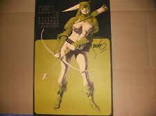 Green Arrow Signed print by Steranko