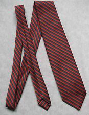 Vintage Slim rétro pour homme Mod Casual Cravate années 1960 années 1970 Commodore TREVIRA rayé