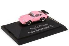 1:87 Porsche 911 Turbo Type 930 Pink - Exhibition Model - 7. herpa Iaa 1990 -