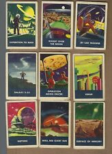 1950's  RICE  CHEX  SPACE PATROL  LOT OF  9    RARE  ITEM