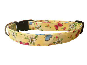 SPIFFY POOCHES Dog Cat Collar Butterfly Florals ~B.O.G.O @ 50% OFF C DESCRIPTION